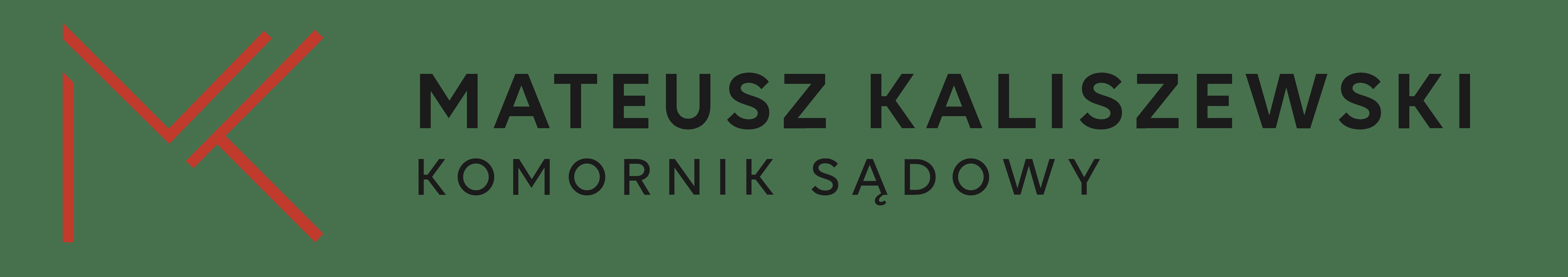 Komornik Sądowy Mateusz Kaliszewski